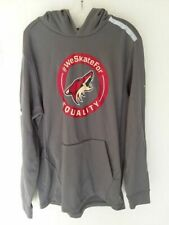 ARIZONA COYOTES Phil Kessel worn WE SKATE FOR EQUALITY warmup hoodie 20 playoffs