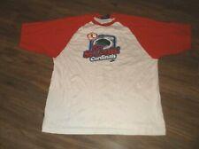 Nike Team Cooperstown Collection ST LOUIS CARDINALS Busch Stadium Shirt XL