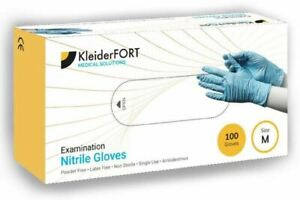 Bulk Case of 5000 Disposable Nitrile Gloves Blue XL Latex Free Powder Free Vinyl