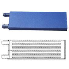 122x41x12MM Aluminum Water Cooling Block for PC CPU Graphics Radiator Heatsink