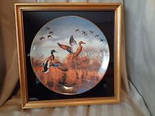"MAASS ""Joining Up"" Brown & Bigelow~1980~Limited Collectors Edition Plate~Ducks"