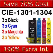 12 Ink Cartridges for Epson Stylus SX525WD SX535WD SX620FW WF-7515 WF-7525