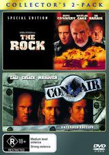 The Rock / Con Air  - DVD - NEW Region 4