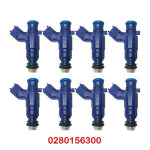 8pcs Fuel Injector 1571078J00 for SUZUKI GRAND VITARA XL-7 2007-2010 2.4 3.2 3.6