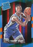 2017-18 DONRUSS HOLO GREEN & YELLOW LASER HARRY GILES RC KINGS PARALLELS - 5692