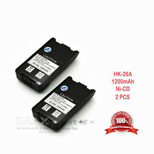 2 x 1200mAh KNB-25A KNB-26N Battery for KENWOOD TK-2140 TK-3140 TK-2148 TK-3148