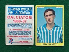 CALCIATORI 1966/67 66/1967 SPAL Luigi PASETTI Figurina Sticker Panini (NEW)