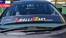 Mit Ralliart Race Windshield Against Sun Reflective Mitsubishi Car Sticker 130cm