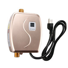 110V Mini Instant Electric Tankless Hot Water Heater Shower Kitchen Bathroom HOT