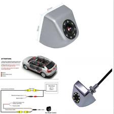 Car Silver Screw Mini HD Camera Rear View Reverse Parking Monitor Night Vision