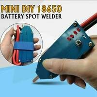 4V-12V Portable Mini DIY 18650 Battery Spot Welder Tools One-button switch