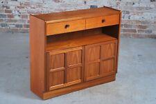 Mid Century Vintage Parker Knoll (Nathan) low bookcase teak cabinet