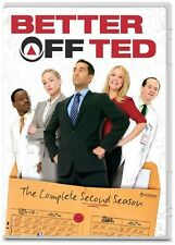 Better Off Ted: The Complete Second Season - 2 DISC SET (2014, DVD NEW)