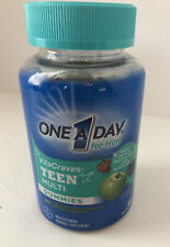 One A Day for Him Teen VitaCraves Multivitamin 60 ct Gummies EXP 05/2021