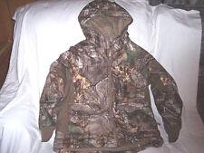 Boys Large Realtree Camo Jacket Insulated Hunting Jacket Rain Jacket Rain Coat