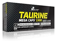 Olimp Taurine 120 Mega Caps 1500mg Strenght & Energy & Amino Acid !
