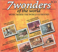 7 Wonders of the World by VA (3 CDs) Steve Jolliffe/Aaron Briggs & More/Sealed!