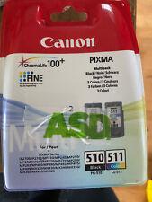 Canon 510/511 Ink Cartridge Multipack - Black, Cyan, Magenta, Yellow...