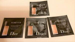 Dior Forever 24H Wear 4 Sample Sachet Foundation 4N Neutral 0.7 ml SPF35 NEW