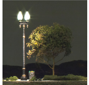 Woodland Scenics 5640 - N Scale Double Lamp Post Street Lights