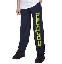 Carbrini Kids Navy/Yellow Flame Fleece Pant