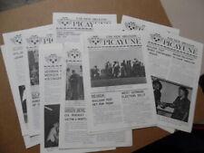 1969 Uss New Orleans Lph-11 Picayune Ship Newspaper 27 Issue Lot Vietnam War Era
