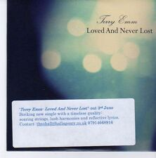 (EB26) Terry Emm, Loved And Never Lost - 2013 DJ CD