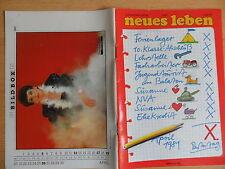 NEUES LEBEN 3/1981 ** Gruppe LIFT Regine Dobberschütz Rock Konzert Penner DDR