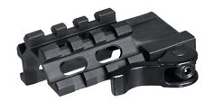 Leapers QD quad-rail 3 slot angolo Mount for Weaver Picatinny basi