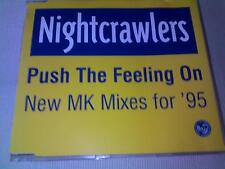 NIGHTCRAWLERS - PUSH THE FEELING ON - HOUSE CD SINGLE