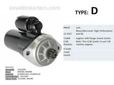 Mercruiser starter motor. suit many V8 from 1961- 2003. Also OMC, Crusader