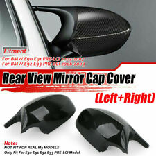 Fibra de carbono mirada M3 estilo Cap Cubierta Espejo Lateral Ajuste BMW E90 E91 E92 E93 PRE-LCI