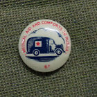 #D268. TIN BADGE - WWII RED CROSS MEDICAL AID TO RUSSIA, SIXPENCE
