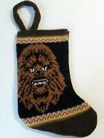 Chewbacca Christmas Stocking Star Wars Vtg Knit Style