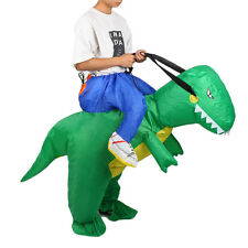 Inflatable Adult T-REX Dinosaur Party Costume Dino Rider Halloween Funny