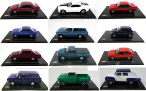 Lot de 12 voitures miniatures Chevrolet 1/43 - SALVAT Diecast Car 6044