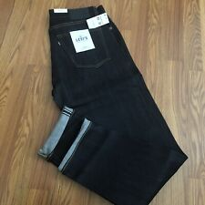 NWT Levi's Made And Crafted Tack Slim Blue Jeans Japanese Selvedge 33/32