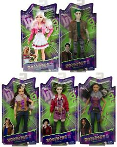 DISNEY ZOMBIES 2 DOLLS ZED ADDISION ELIZA WYNTER WILLA