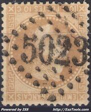 FRANCE N° 28A AVEC OBLITERATION GC 5023 CONSTANTINE ALGERIE