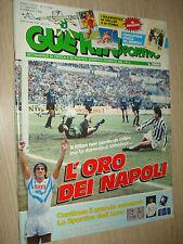 GUERIN SPORTIVO 1990 ANNO LXXVIII N°5 (780) L´ORO DEI NAPOLI JUVE-INTER 1-0