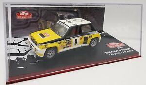 "1/43 IXO RENAULT 5 TURBO 1981 ""Rallye Monte-Carlo"""