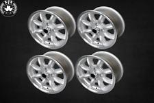 4x Leichtmetallfelge Minilite Style 5,5x13 ET 25 für Datsun 120/140/160/180 NEU