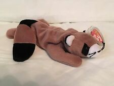 217ac716de7 TY Beanie Baby - RINGO the Raccoon - Pristine with Mint Tags-PVC Pellets  RETIRED