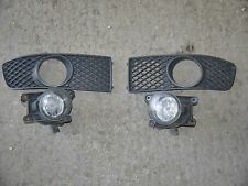 VOLKSWAGEN POLO 6N2 99-02 PAIR OF DRIVERS / PASSENGERS FRONT FOG LIGHT SURROUNDS