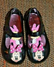 Disney Minnie Mouse Jelly Toddler Girl's Shoe Mary Jane 5/6 costume