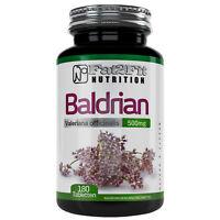 Baldrian 180 Tabletten je 500mg Beruhigung Stress Fat2Fit Nutrition