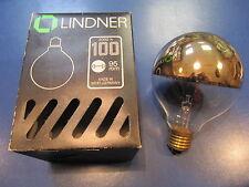 LINDNER lámpara globo G95 E27 parte reflectante ORO 100W ø 95mm Bombilla
