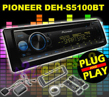 FOR 1998-2013 HARLEY DAVIDSON TOURING PLUG & PLAY DEH-S5100BT RADIO STEREO NEW!