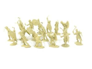 Conte Collectibles Vikings 54mm Plastic Toy Soldiers Collectible Figures