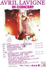 Avril LAVIGNE - 8x6 Hand Signed Autograph Photo